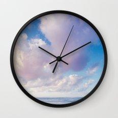 beach ver.pink Wall Clock