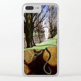 Avon River, Christchurch Clear iPhone Case