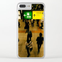 Ueno Station Clear iPhone Case