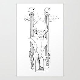 Baco Gates Art Print