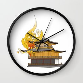 Golden Temple Wall Clock