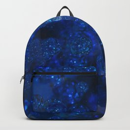 Blue Glass Bubbles Backpack