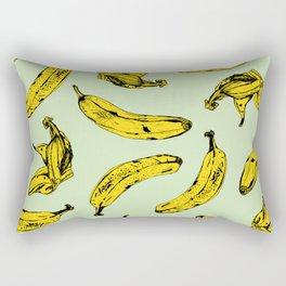 Mint Banana Rectangular Pillow
