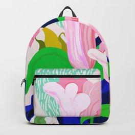 Blue Leaf Backpack
