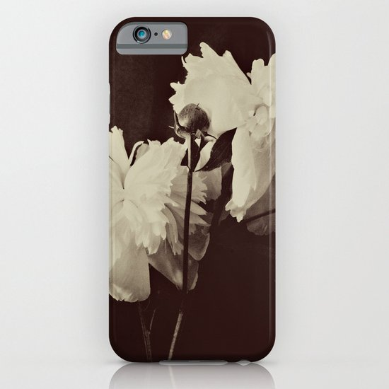White Peony iPhone & iPod Case