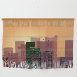 Sunset over San Francisco Wall Hanging
