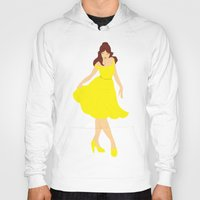 belle Hoodies featuring Belle by Eva Duplan Illustrations