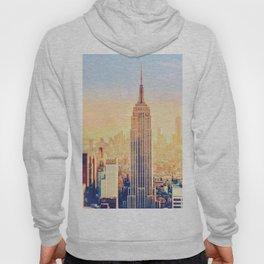 New York City Sunset Glow Hoody