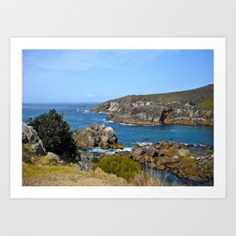 Land and Seascapes Art Print