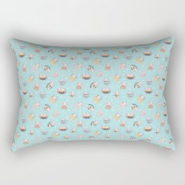 Axalotls - little friends Rectangular Pillow