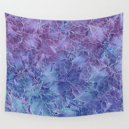 Frozen Leaves 4 Wall Tapestry