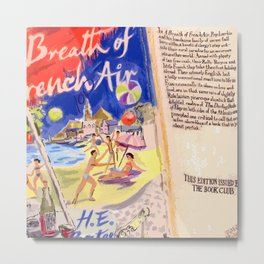 A BREATH OF FRENCH AIR(DETAIL) Metal Print