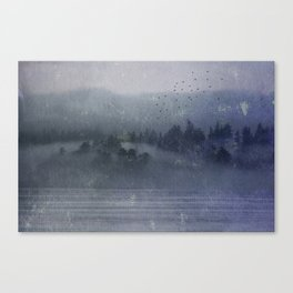 Out of the Mist Canvas Print