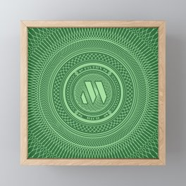 Filthy Rich Framed Mini Art Print