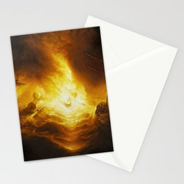 Fireship Attack on the Spanish Armada Stationery Cards