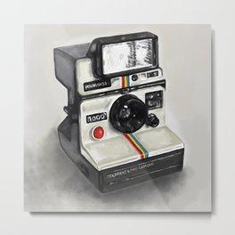 I love Polaroid 1000  Metal Print