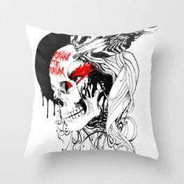 Boadica Throw Pillow