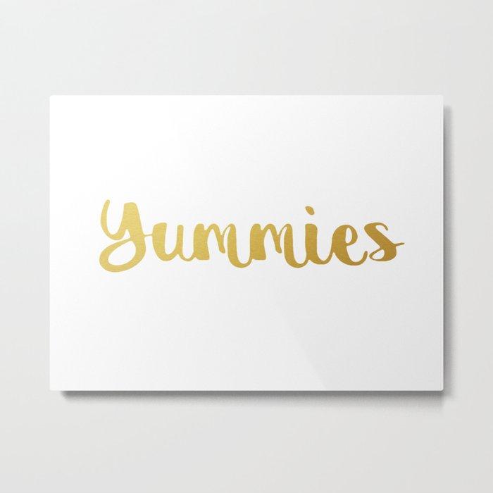 Yummies Metal Print