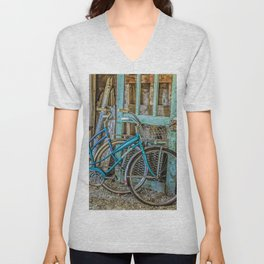 Let's Go For A Ride Unisex V-Neck