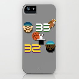 Magic & Bird iPhone Case
