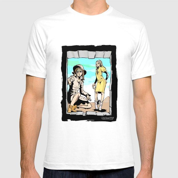Q-riosity 2 Ladies T-shirt