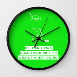 The Grinch 3 Wall Clock
