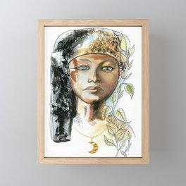 Egyptian Princess Framed Mini Art Print