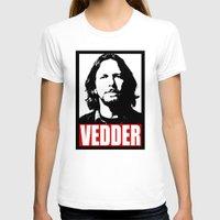eddie vedder T-shirts featuring Eddie Vedder by Darkside-Shirts