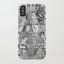 The Letter A iPhone Case