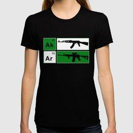 AK47 AR15 Riffle Adult_s NRA Cool Gun Defense Tee for Men Gun T-shirt