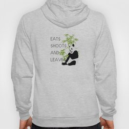 Eats, Shoots and Leaves Hoody
