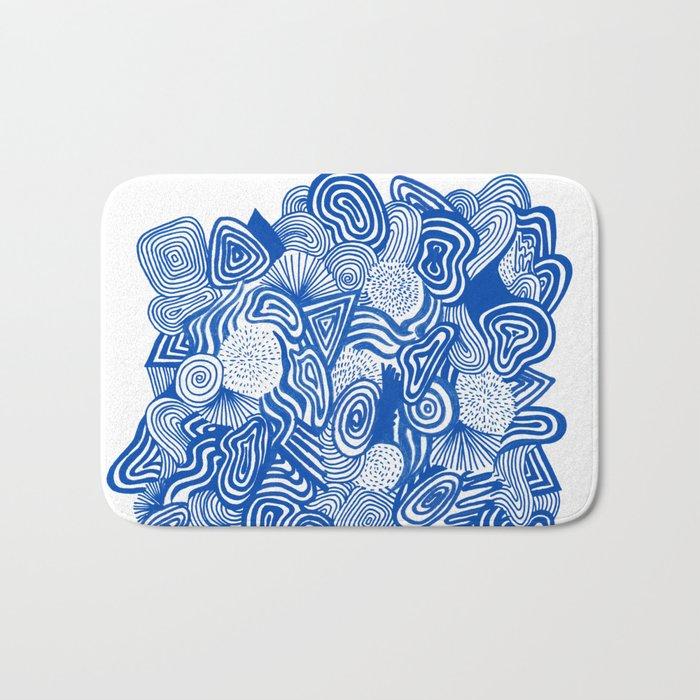 Blue Whirlpool Bath Mat