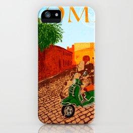Roma Rione di Trastevere iPhone Case