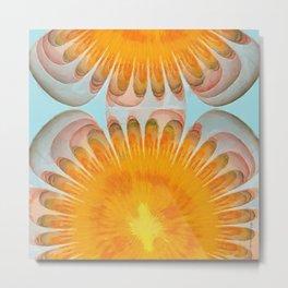 Leucopoietic Make-Up Flowers  ID:16165-023718-55070 Metal Print