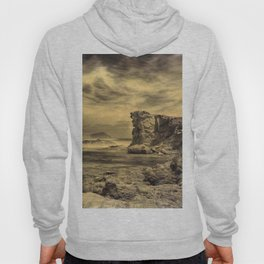 Volcanic Reef ..... Hand Painted Photograph Hoody