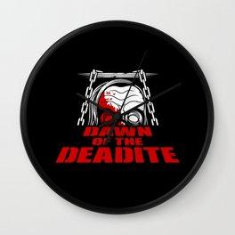 Dawn of the Deadite Wall Clock