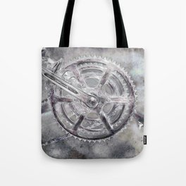 Cognitive Thinking in B&W Tote Bag