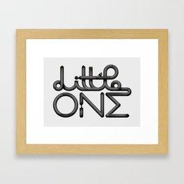 Little one Framed Art Print