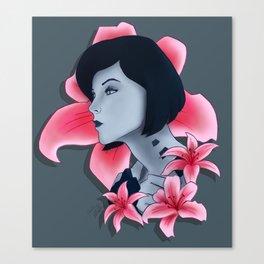 The Beauty of Cortana Canvas Print