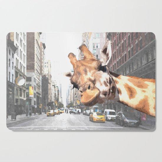 Selfie Giraffe in New York by alemi
