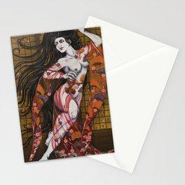 Hari Onna Stationery Cards