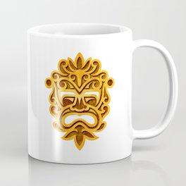 Stylish Stone Mayan Mask Coffee Mug