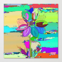Colors of the World - Flower Canvas Print