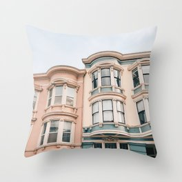 San Francisco Charmer Throw Pillow