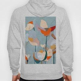 Abstract Art Flowers Hoody