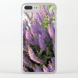 """City Blooms Summer of Seventeen"" Clear iPhone Case"