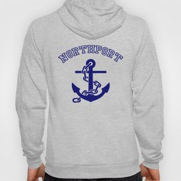 Northport Anchor T-Shirt Hoody