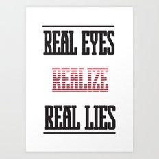 Realize Art Print