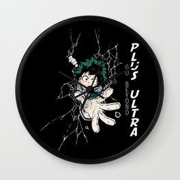 Go Beyond! Plus Ultra! V2 Wall Clock