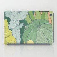 cacti iPad Cases featuring Cacti by Julia Walters Illustration